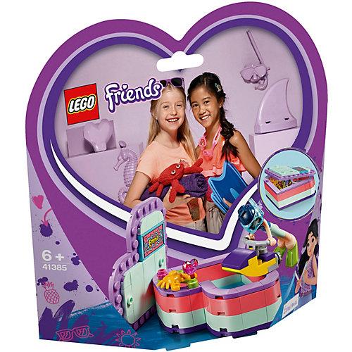 Конструктор LEGO Friends 41385: Летняя шкатулка-сердечко для Эммы от LEGO
