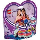 Конструктор LEGO Friends 41385: Летняя шкатулка-сердечко для Эммы