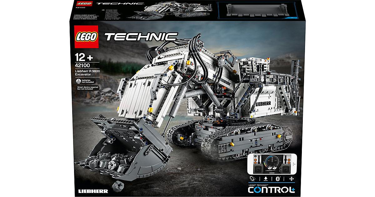 LEGO 42100 Technic: Liebherr Bagger R 9800