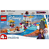 Конструктор LEGO Disney Princess 41165: Экспедиция Анны на каноэ