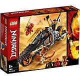 Конструктор LEGO Ninjago 70672: Раллийный мотоцикл Коула