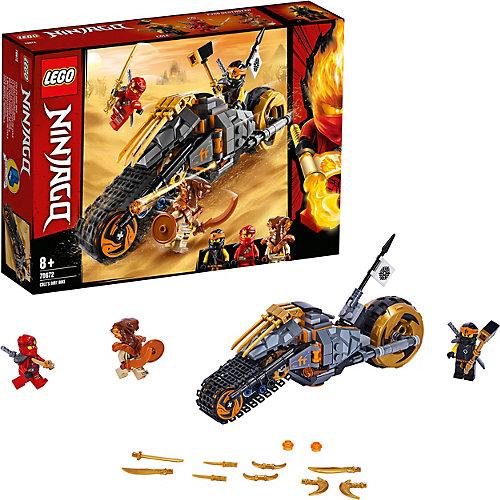 Конструктор LEGO Ninjago 70672: Раллийный мотоцикл Коула от LEGO