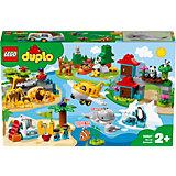 Конструктор LEGO DUPLO Town 10907: Животные мира