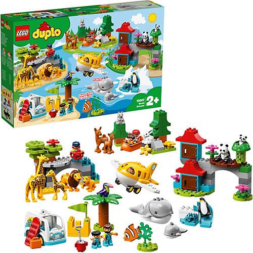 Конструктор LEGO DUPLO Town 10907: Животные мира от LEGO