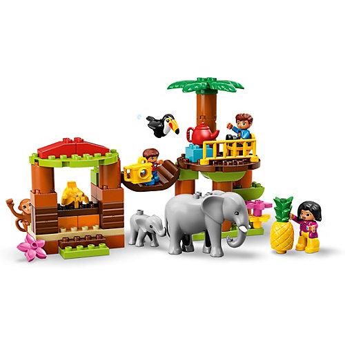 Конструктор LEGO DUPLO Town 10906: Тропический остров от LEGO