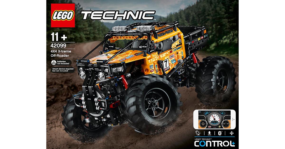 LEGO 42099 Technic: Allrad Xtreme-Geländewagen bunt