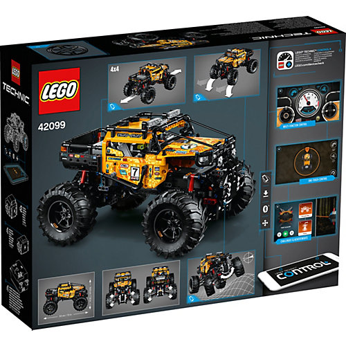 """Конструктор LEGO Technic """"Экстремальный внедорожник"""", 958 деталей, арт 42099 от LEGO"""