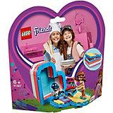 Конструктор LEGO Friends 41387: Летняя шкатулка-сердечко для Оливии