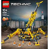 """Конструктор LEGO Technic """"Мостовой кран"""", 920 деталей, арт 42097"""
