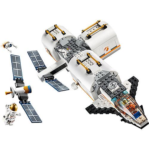 Конструктор LEGO City Space Port 60227: Лунная космическая станция от LEGO