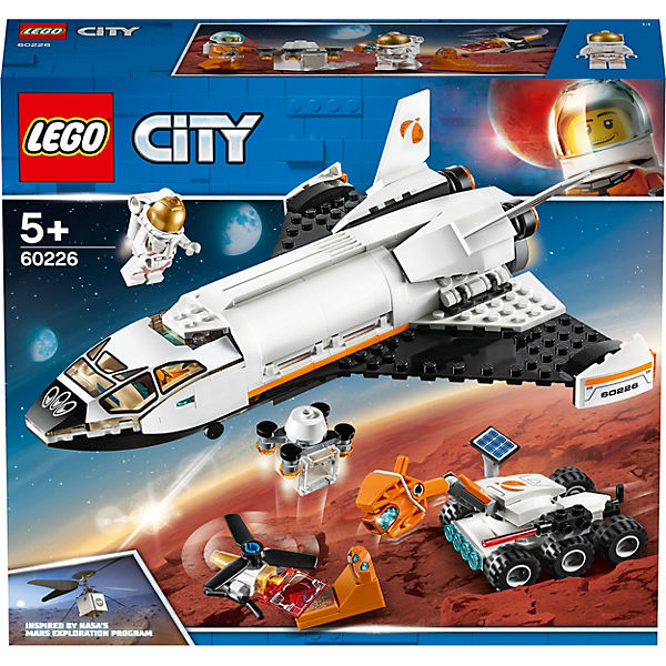 LEGO 60226 City: Mars-Forschungsshuttle