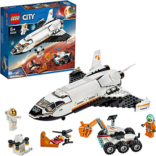 Конструктор LEGO City Space Port 60226: Шаттл для исследований Марса от LEGO
