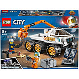 Конструктор LEGO City Space Port 60225: Тест-драйв вездехода