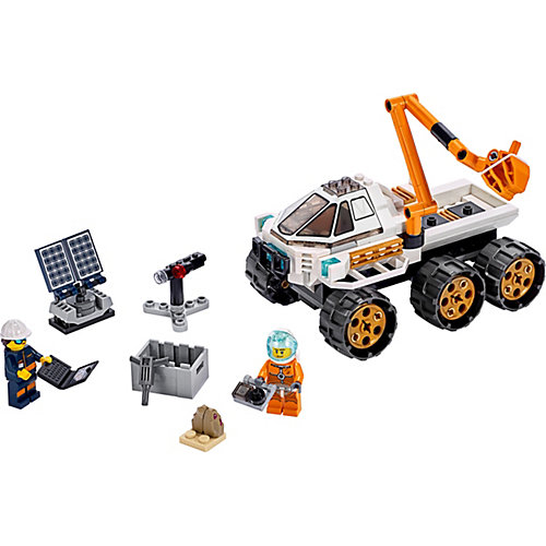 Конструктор LEGO City Space Port 60225: Тест-драйв вездехода от LEGO