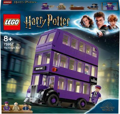 Hogwarts Express 4x Lego Harry Potter Knight Bus und Harry Potter mit Zubehör