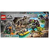 Конструктор LEGO Jurassic World 75938: Бой тираннозавра и робота-динозавра