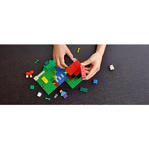 """Конструктор LEGO Minecraft """"Шерстяная ферма"""" 21153 от LEGO"""