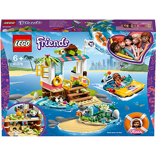 Конструктор LEGO Friends 41376: Спасение черепах от LEGO
