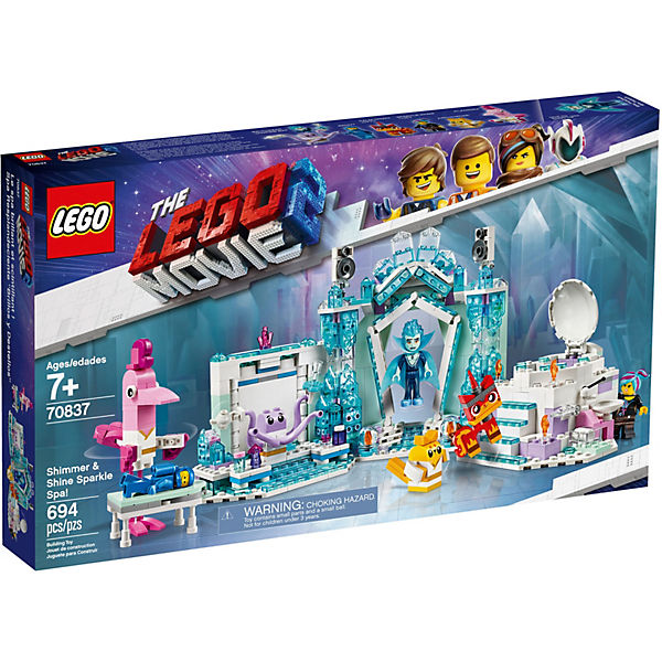 LEGO 70837 The LEGO Movie™ 2: Schimmerndes Glitzer-Spa!