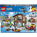 """Конструктор LEGO City Town """"Горнолыжный курорт"""" 60203"""