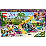 Конструктор LEGO Friends 41374: Вечеринка Андреа у бассейна