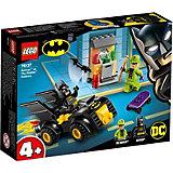 Конструктор LEGO Super Heroes 76137: Бэтмен и ограбление Загадочника