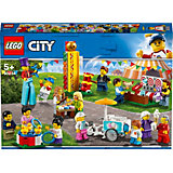 """Конструктор LEGO City Town 60234: Комплект минифигурок """"Весёлая ярмарка"""""""