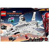Конструктор LEGO Super Heroes 76130: Реактивный самолёта Старка и атака дрона