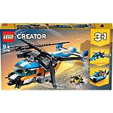 Конструктор LEGO Creator 31096: Двухроторный вертолёт