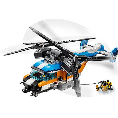 Конструктор LEGO Creator 31096: Двухроторный вертолёт от LEGO