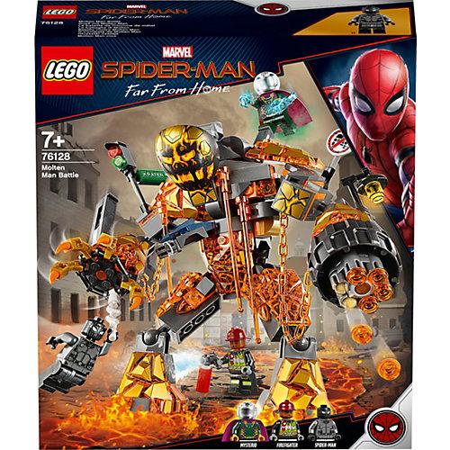 Конструктор LEGO Super Heroes 76128: Бой с Расплавленным Человеком от LEGO