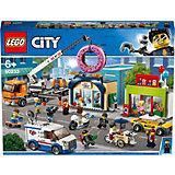Конструктор LEGO City Town 60233: Открытие магазина по продаже пончиков