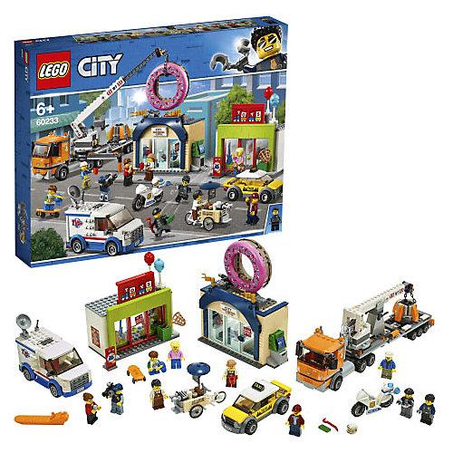 Конструктор LEGO City Town 60233: Открытие магазина по продаже пончиков от LEGO