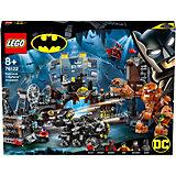 Конструктор LEGO Super Heroes 76122: Вторжение Глиноликого в бэт-пещеру