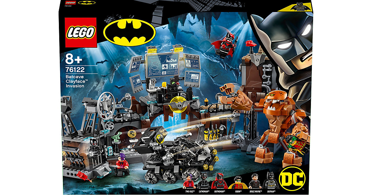 LEGO · LEGO 76122 DC Universe Super Heroes™: Clayface™ Invasion in die Bathöhle