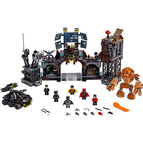 Конструктор LEGO Super Heroes 76122: Вторжение Глиноликого в бэт-пещеру от LEGO