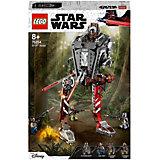 Конструктор LEGO Star Wars 75254: Диверсионный AT-ST