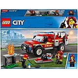 Конструктор LEGO City Town 60231: Грузовик начальника пожарной охраны