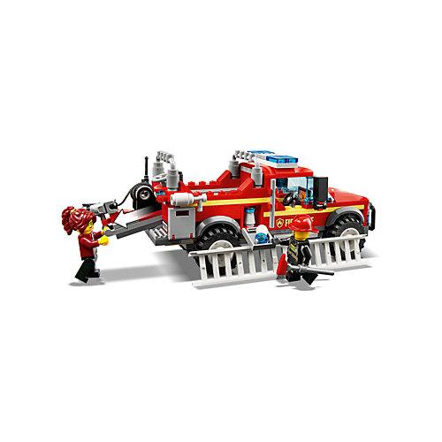 Конструктор LEGO City Town 60231: Грузовик начальника пожарной охраны от LEGO