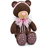 Мягкая игрушка Orange Choco & Milk Мишка Milk Розовый бант, 20 см
