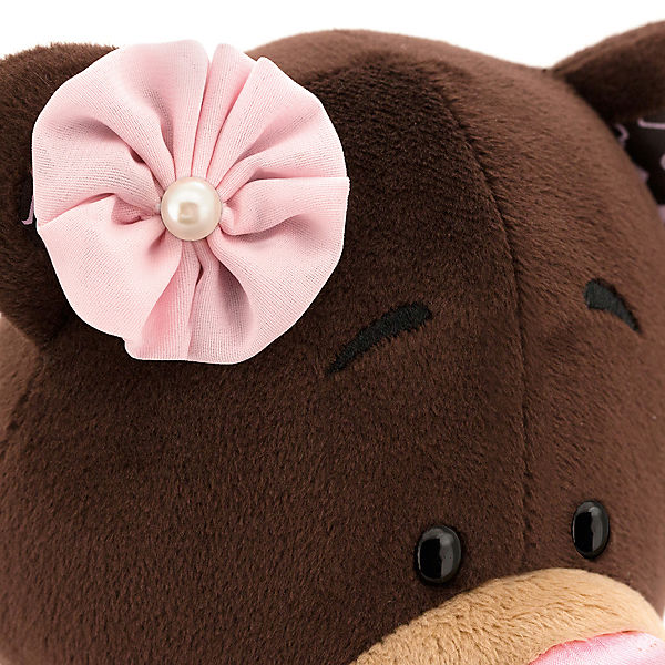 Мягкая игрушка Orange Choco & Milk Мишка Milk в бальном платье, 35 см