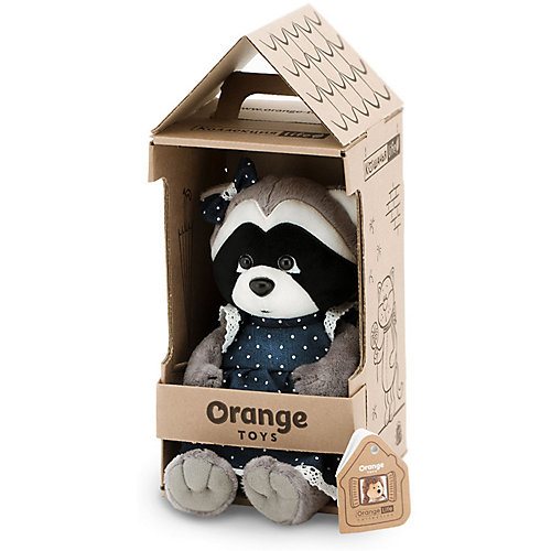 Мягкая игрушка Orange Life Енотик Дэйзи Джинсовая романтика, 20 см от Orange