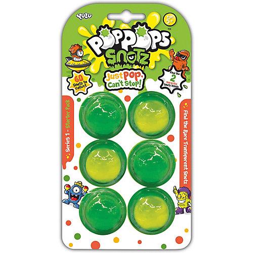 Игровой набор Yulu PopPops Snotz, 6 шт от BANDAI