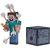 Игровая фигурка Jazwares Minecraft Steve with Arrows,  8 см