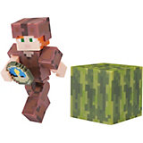 Игровая фигурка Jazwares Minecraft Alex in Leather Armor,  8 см