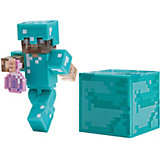 Игровая фигурка Jazwares Minecraft Steve with Invisibility Potion,  8 см