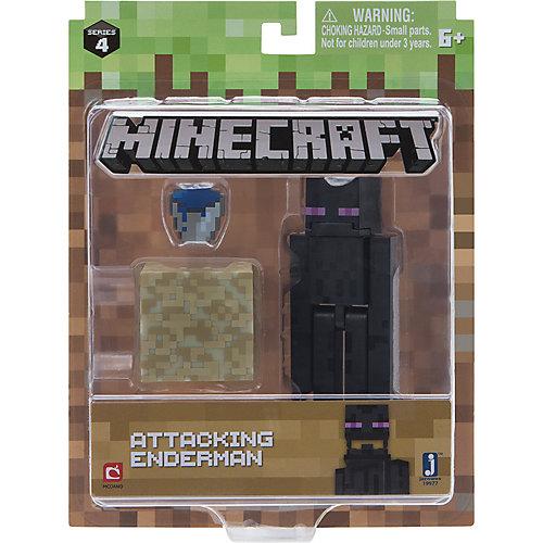 Игровая фигурка Jazwares Minecraft Attacking Enderman,  8 см от Jazwares