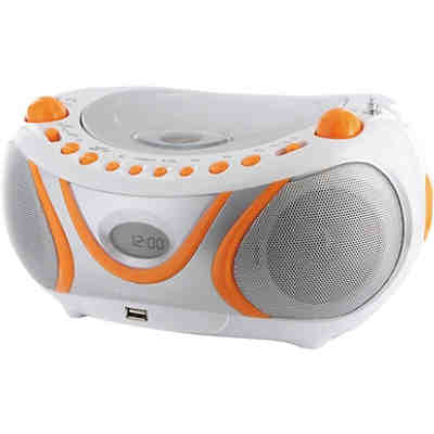 "CD-Player Boombox mit USB/MP3/Radio ""Juicy"""