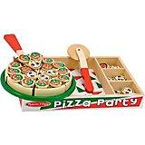 """Набор Melissa & Doug """"Готовь и играй"""", Вечеринка с пиццей"""