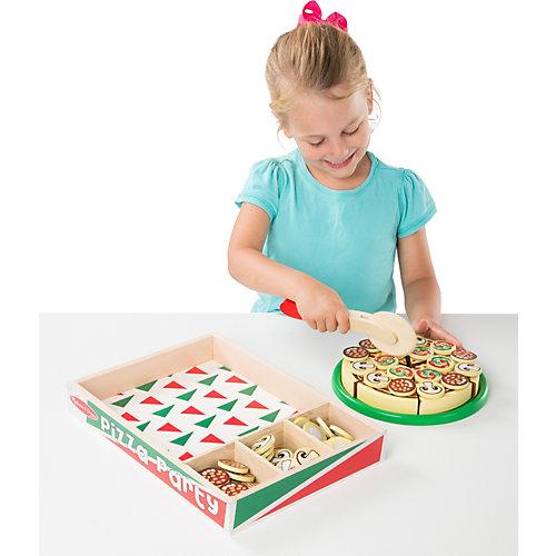 """Набор Melissa & Doug """"Готовь и играй"""", Вечеринка с пиццей от Melissa & Doug"""